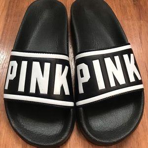 PINK Black Slides